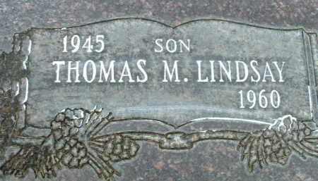 LINDSAY, THOMAS M. - Klamath County, Oregon | THOMAS M. LINDSAY - Oregon Gravestone Photos