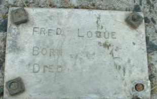 LOGUE, FRED - Klamath County, Oregon | FRED LOGUE - Oregon Gravestone Photos