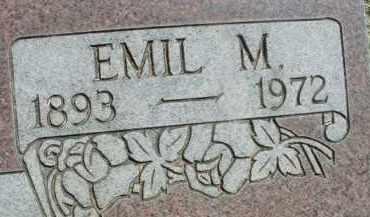MARSHA, EMIL M. - Klamath County, Oregon | EMIL M. MARSHA - Oregon Gravestone Photos