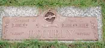 MCCURDY, THOMAS VIRGIL - Klamath County, Oregon | THOMAS VIRGIL MCCURDY - Oregon Gravestone Photos