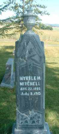 MITCHELL, MYRTLE M. - Klamath County, Oregon | MYRTLE M. MITCHELL - Oregon Gravestone Photos