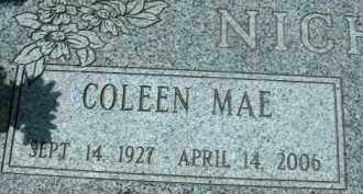NICHOLS, COLEEN MAE - Klamath County, Oregon | COLEEN MAE NICHOLS - Oregon Gravestone Photos