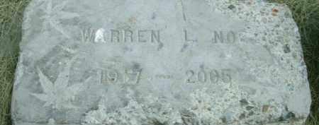 NOE, WARREN L. - Klamath County, Oregon   WARREN L. NOE - Oregon Gravestone Photos