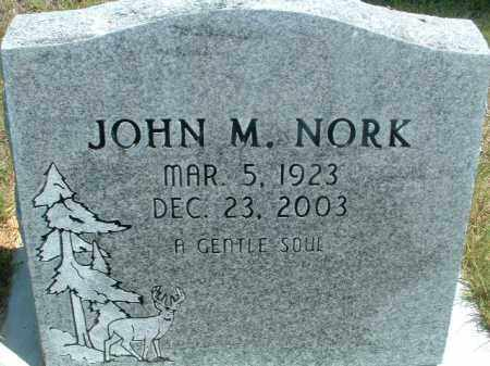 NORK, JOHN M. - Klamath County, Oregon | JOHN M. NORK - Oregon Gravestone Photos