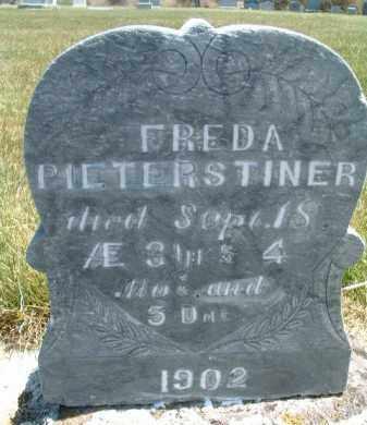 PIETERSTINER, FREDA - Klamath County, Oregon   FREDA PIETERSTINER - Oregon Gravestone Photos