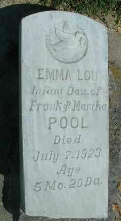 POOL, EMMA LOU - Klamath County, Oregon | EMMA LOU POOL - Oregon Gravestone Photos