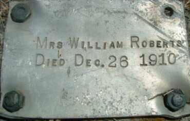 ROBERTS, MRS. WILLIAM - Klamath County, Oregon | MRS. WILLIAM ROBERTS - Oregon Gravestone Photos