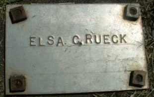 RUECK, ELSA C. - Klamath County, Oregon   ELSA C. RUECK - Oregon Gravestone Photos