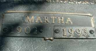 SCHANZ, MARTHA - Klamath County, Oregon   MARTHA SCHANZ - Oregon Gravestone Photos