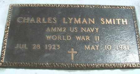 SMITH (WWII), CHARLES LYMAN - Klamath County, Oregon   CHARLES LYMAN SMITH (WWII) - Oregon Gravestone Photos