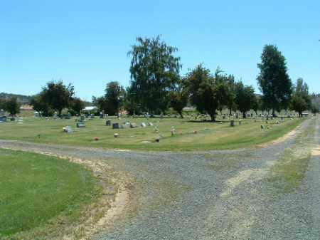VIEW, BONANZA MEMORIAL CEMETERY - Klamath County, Oregon   BONANZA MEMORIAL CEMETERY VIEW - Oregon Gravestone Photos