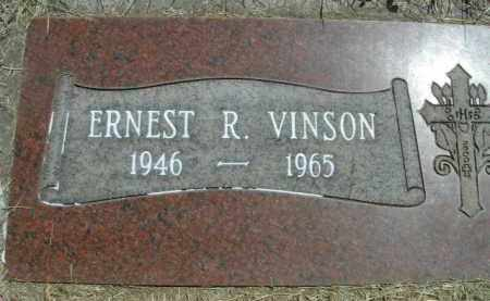 VINSON, ERNEST R. - Klamath County, Oregon   ERNEST R. VINSON - Oregon Gravestone Photos