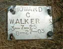 WALKER, HOWARD C. - Klamath County, Oregon | HOWARD C. WALKER - Oregon Gravestone Photos
