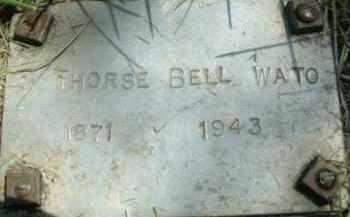 WATO, THORSE BELL - Klamath County, Oregon   THORSE BELL WATO - Oregon Gravestone Photos