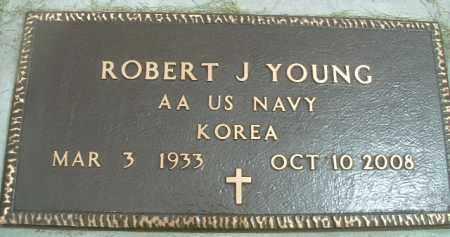 YOUNG (KOR), ROBERT J. - Klamath County, Oregon | ROBERT J. YOUNG (KOR) - Oregon Gravestone Photos