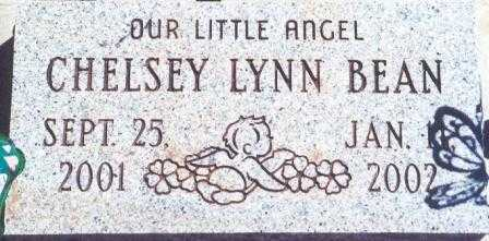 BEAN, CHELSEY LYNN - Lane County, Oregon   CHELSEY LYNN BEAN - Oregon Gravestone Photos