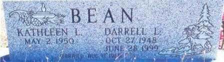 BEAN, DARRELL LEO, SR. - Lane County, Oregon | DARRELL LEO, SR. BEAN - Oregon Gravestone Photos