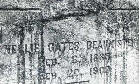 GATES BEAUMISTER, NELLIE JANE - Lane County, Oregon | NELLIE JANE GATES BEAUMISTER - Oregon Gravestone Photos