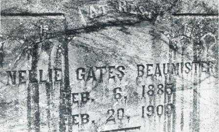 GATES BEAUMISTER, NELLIE JANE - Lane County, Oregon | NELLIE JANE GATES BEAUMISTER - Oregon Gravestone Photos