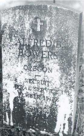 BOWERS (SERV), ALFRED B. - Lane County, Oregon | ALFRED B. BOWERS (SERV) - Oregon Gravestone Photos
