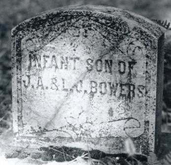 BOWERS, INFANT SON - Lane County, Oregon | INFANT SON BOWERS - Oregon Gravestone Photos