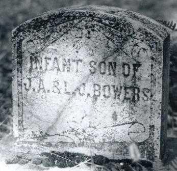 BOWERS, INFANT SON - Lane County, Oregon | INFANT SON BOWERS - Oregon Gravestone Photos