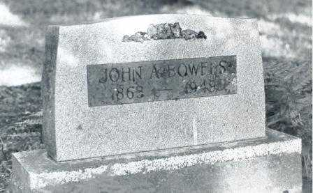 BOWERS, JOHN ANDREW - Lane County, Oregon   JOHN ANDREW BOWERS - Oregon Gravestone Photos