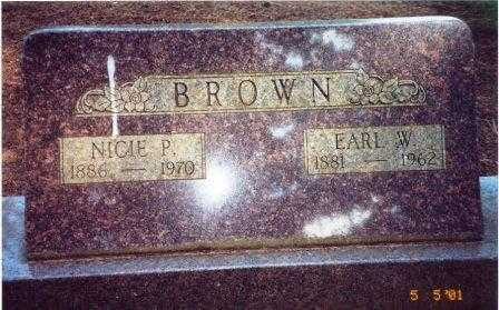 BROWN, EARL WAYNE - Lane County, Oregon | EARL WAYNE BROWN - Oregon Gravestone Photos