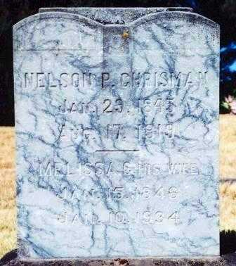 CHRISMAN, NELSON PRESTON - Lane County, Oregon | NELSON PRESTON CHRISMAN - Oregon Gravestone Photos