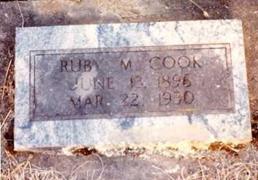 COOK, RUBY MAY - Lane County, Oregon | RUBY MAY COOK - Oregon Gravestone Photos