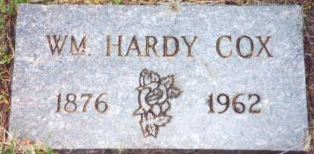 COX, WILLIAM HARDY - Lane County, Oregon | WILLIAM HARDY COX - Oregon Gravestone Photos