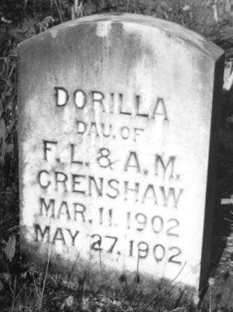 CRENSHAW, DORILLA - Lane County, Oregon | DORILLA CRENSHAW - Oregon Gravestone Photos