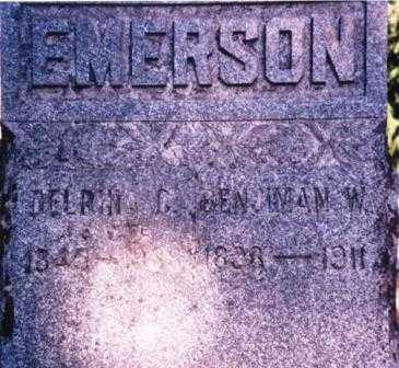 LEE EMERSON, DELPHINIA CATHERINE - Lane County, Oregon | DELPHINIA CATHERINE LEE EMERSON - Oregon Gravestone Photos