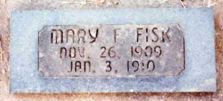 FISK, MARY FRANCIS - Lane County, Oregon | MARY FRANCIS FISK - Oregon Gravestone Photos