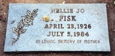 HUFFMAN FISK, NELLIE JO - Lane County, Oregon | NELLIE JO HUFFMAN FISK - Oregon Gravestone Photos