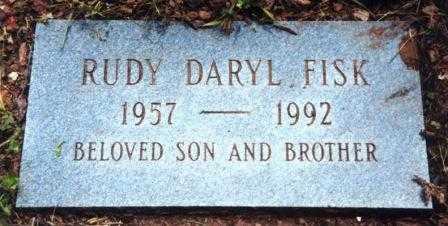 FISK, RUDY DARYL - Lane County, Oregon | RUDY DARYL FISK - Oregon Gravestone Photos