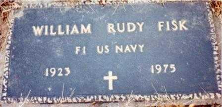 FISK (SERV), WILLIAM RUDY - Lane County, Oregon | WILLIAM RUDY FISK (SERV) - Oregon Gravestone Photos