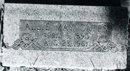 GATES, ALLIE MAY - Lane County, Oregon | ALLIE MAY GATES - Oregon Gravestone Photos