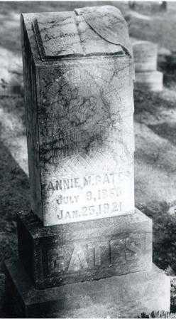 DOSTER GATES, ANNA MAY - Lane County, Oregon | ANNA MAY DOSTER GATES - Oregon Gravestone Photos