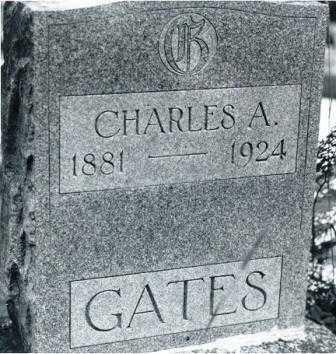 GATES, CHARLES ANDERSON - Lane County, Oregon | CHARLES ANDERSON GATES - Oregon Gravestone Photos