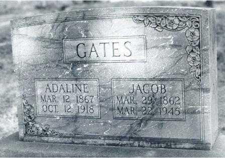 DAVIS GATES, ELVIRA ADALINE - Lane County, Oregon | ELVIRA ADALINE DAVIS GATES - Oregon Gravestone Photos