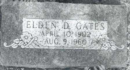 GATES, ELDEN DALE - Lane County, Oregon | ELDEN DALE GATES - Oregon Gravestone Photos
