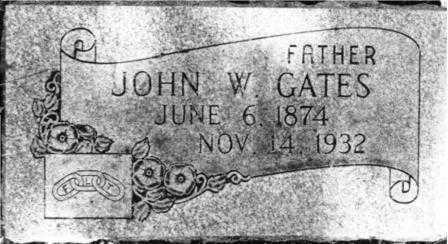 GATES, JOHN WILLIAM - Lane County, Oregon   JOHN WILLIAM GATES - Oregon Gravestone Photos