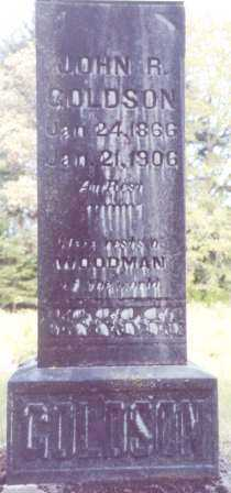 GOLDSON, JOHN R - Lane County, Oregon | JOHN R GOLDSON - Oregon Gravestone Photos