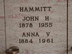 HAMMITT, ANNA V - Lane County, Oregon | ANNA V HAMMITT - Oregon Gravestone Photos