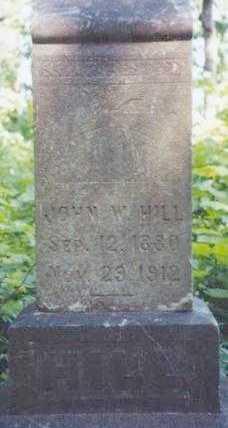 HILL, JOHN W - Lane County, Oregon | JOHN W HILL - Oregon Gravestone Photos