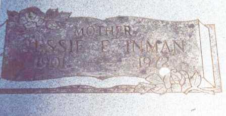 SHORT WALDIEN INMAN, JESSIE ELIZABETH - Lane County, Oregon | JESSIE ELIZABETH SHORT WALDIEN INMAN - Oregon Gravestone Photos