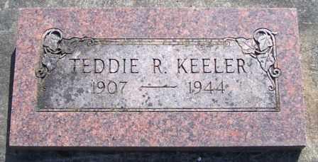 KEELER, TEDDIE RAYMOND - Lane County, Oregon | TEDDIE RAYMOND KEELER - Oregon Gravestone Photos