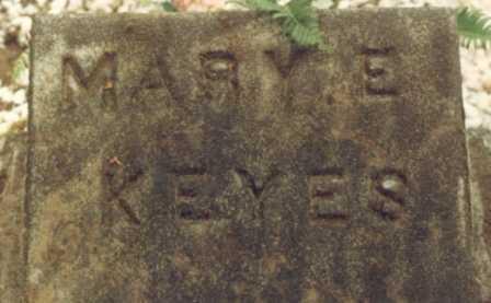 KEYES, MARY EMMALINE - Lane County, Oregon | MARY EMMALINE KEYES - Oregon Gravestone Photos