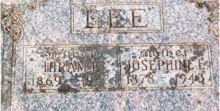 LEE, JOSEPHINE EVANGELINE - Lane County, Oregon   JOSEPHINE EVANGELINE LEE - Oregon Gravestone Photos